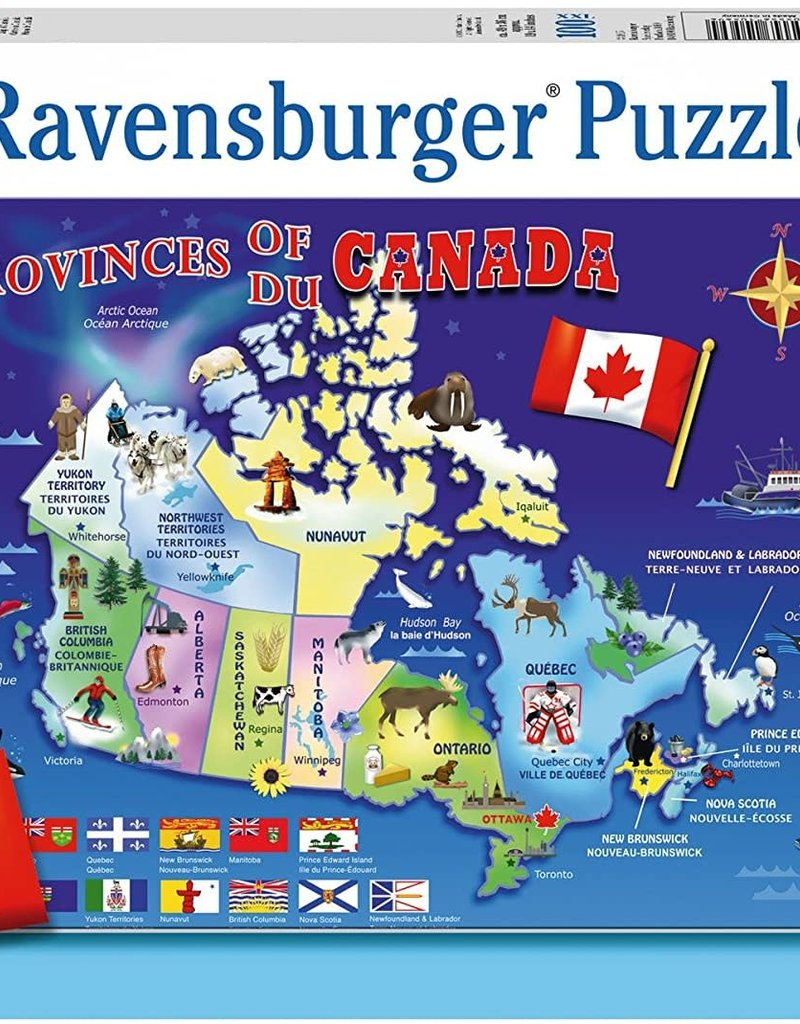 Ravensburger Map of Canada