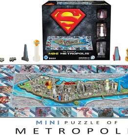 Superman Mini Metropolis 4D Puzzle
