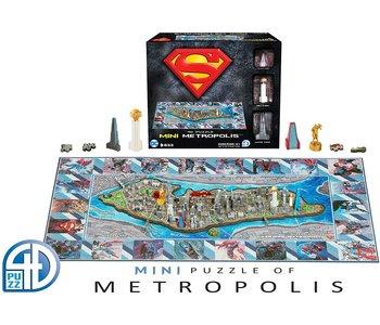 Superman Mini Metropolis 4D Puzzle