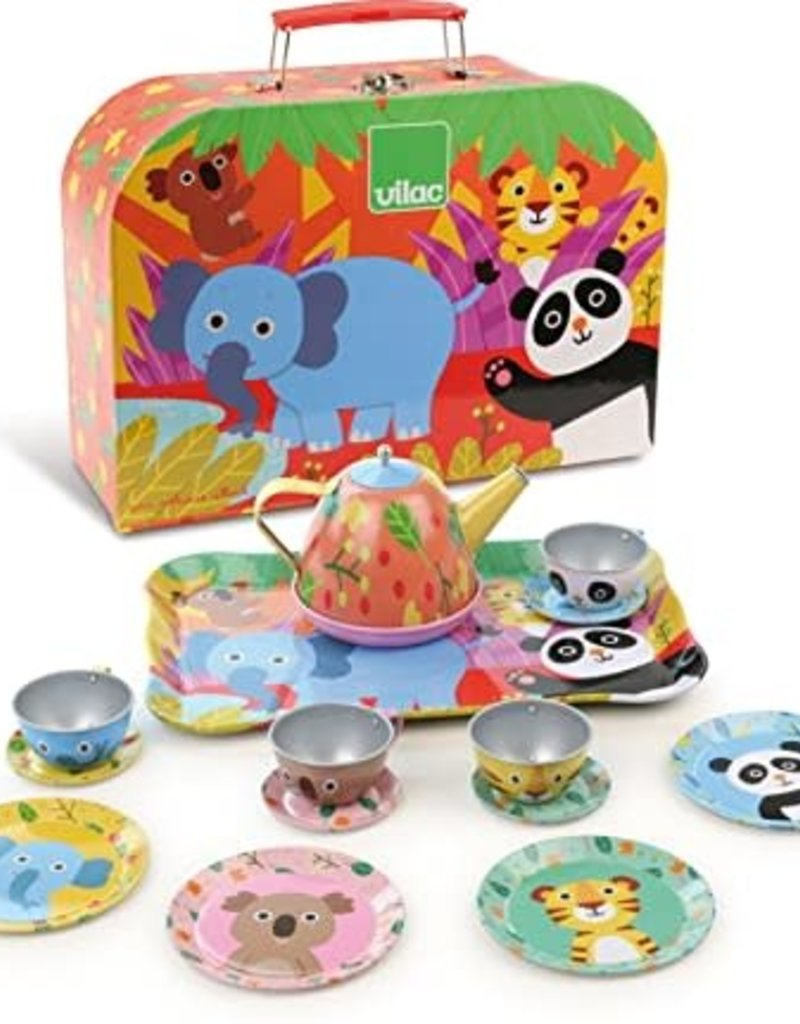 Tea Set Jungle