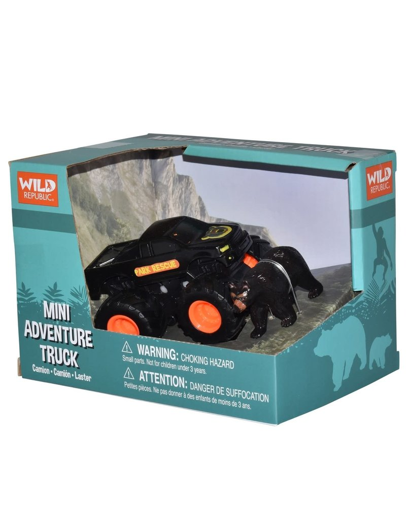 Wild Republic Mini Bear Black - Truck