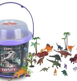 Wild Republic Mini Dino - Bucket