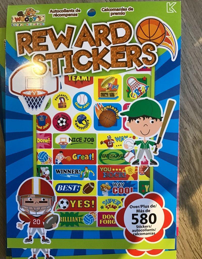 Reward Stickers Green