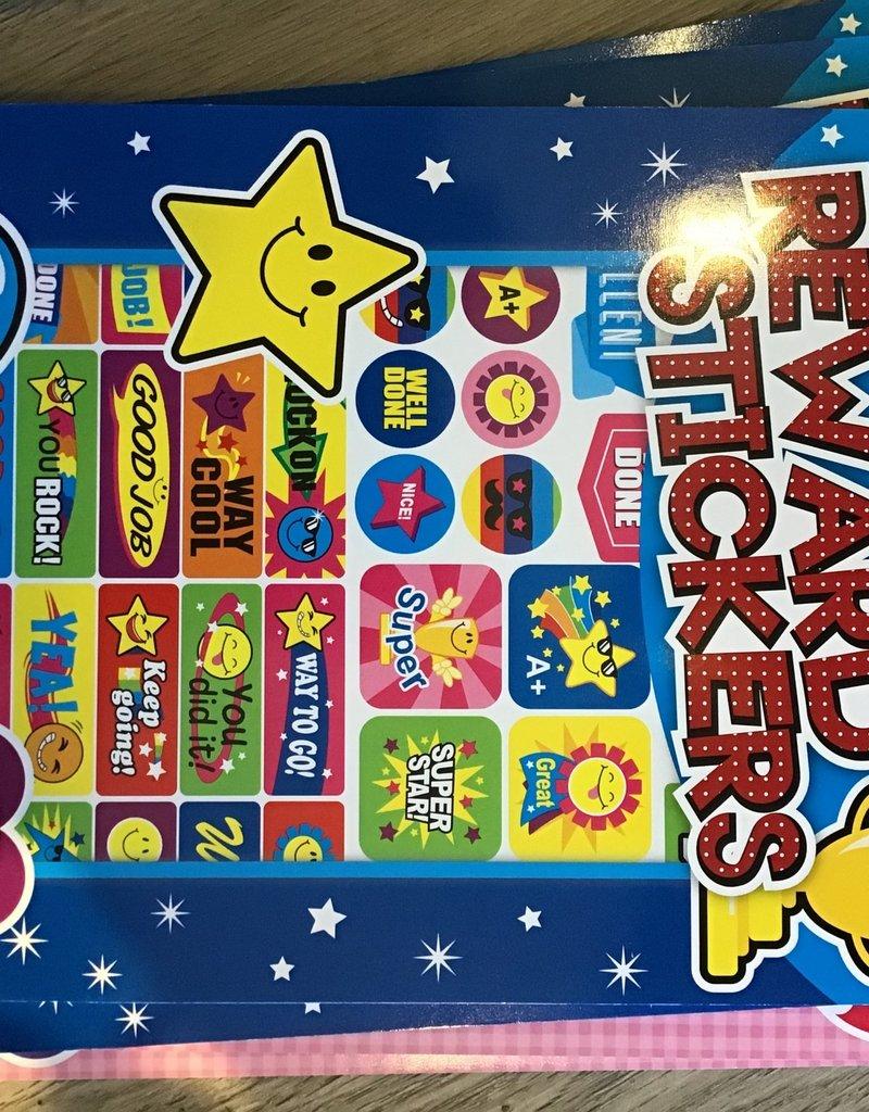 Reward Stickers Blue