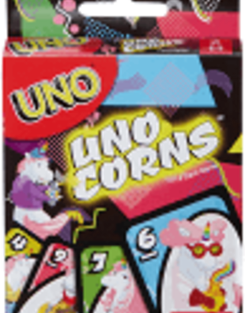 Mattel Games Uno corns
