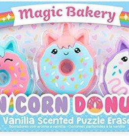 Unicorn Donut Erasers