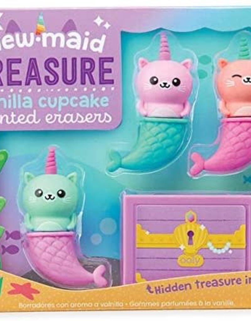 Mew-maid Treasure erasers