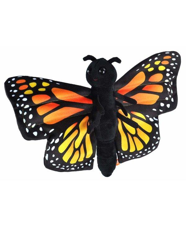 Huggers Butterfly Monarch Snap Bracelet