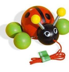 Pull Toy Baby Ladybug