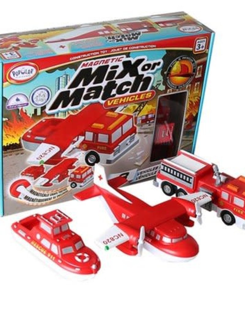 Mix or Match Vehicles Fire and Rescue