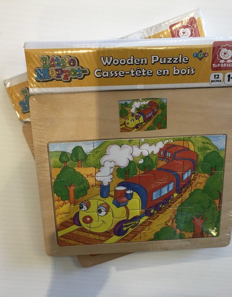 Little Moppets Little Moppet Puzzle - Train