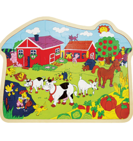 Little Moppets Little Moppets Farm Puzzle