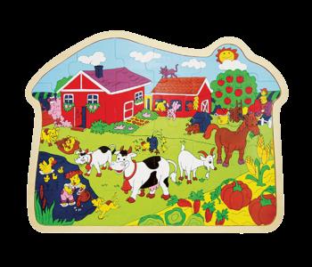 Little Moppets Farm Puzzle