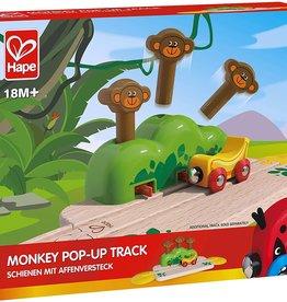Hape Monkey Pop Up Track