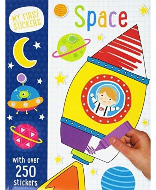 Space - My First Stickers Activity Book