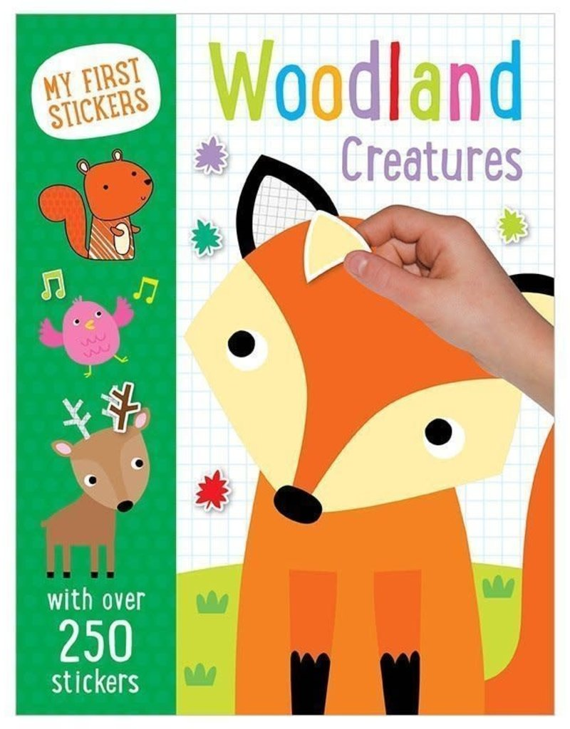 My First Sticker Book Woodland Creatures