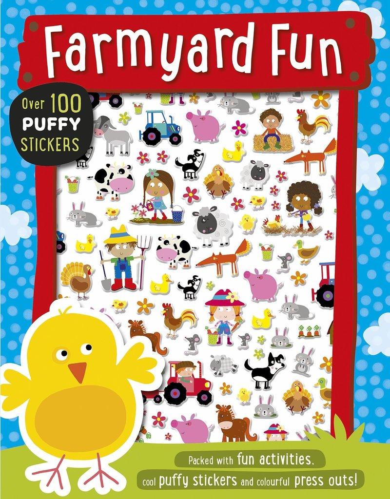 Farmyard Fun Puffy Stickers Activity Book