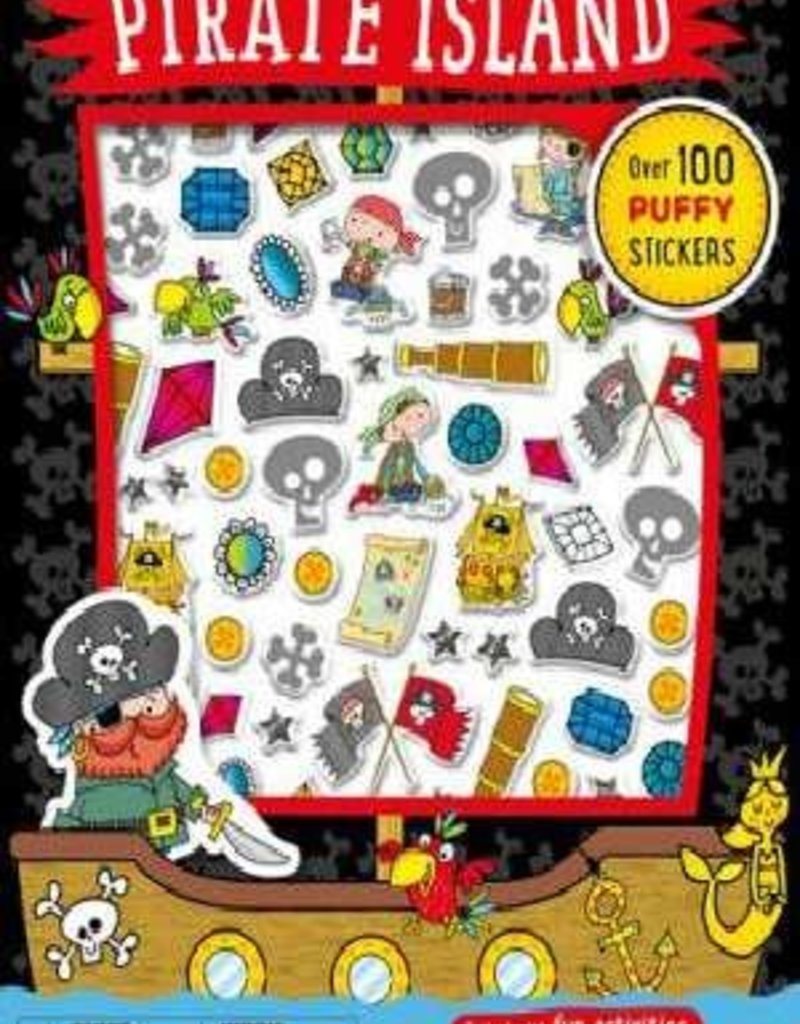 Pirate Island Puffy Stickers Activity Book