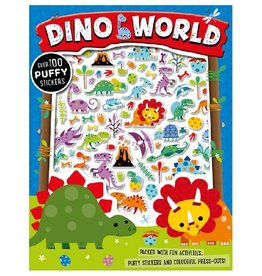 Dino World Puffy Stickers Activity Book
