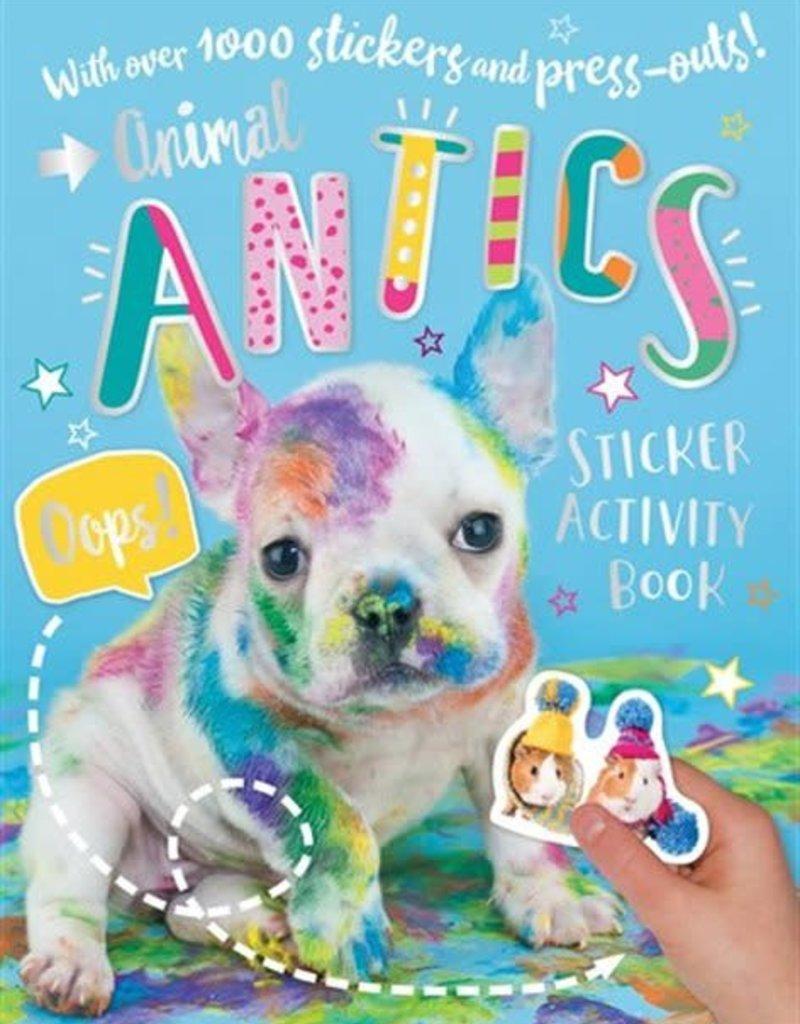 Animal Antics Sticker Activity