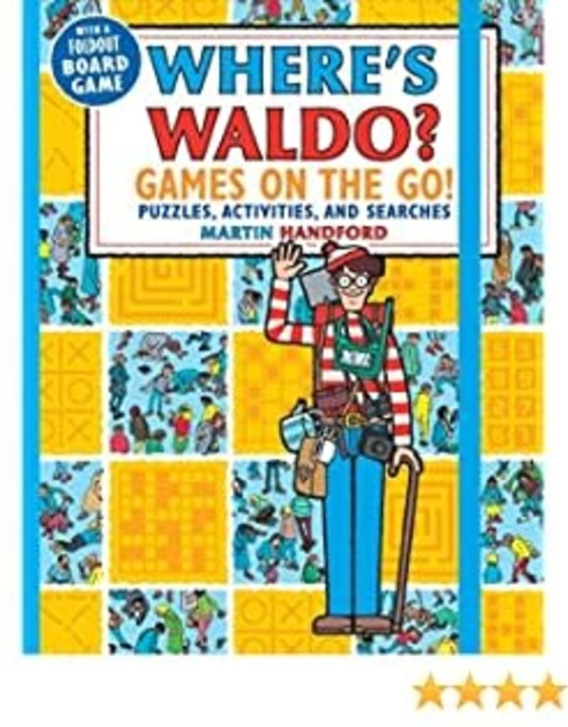 Where's Waldo Games on the Go