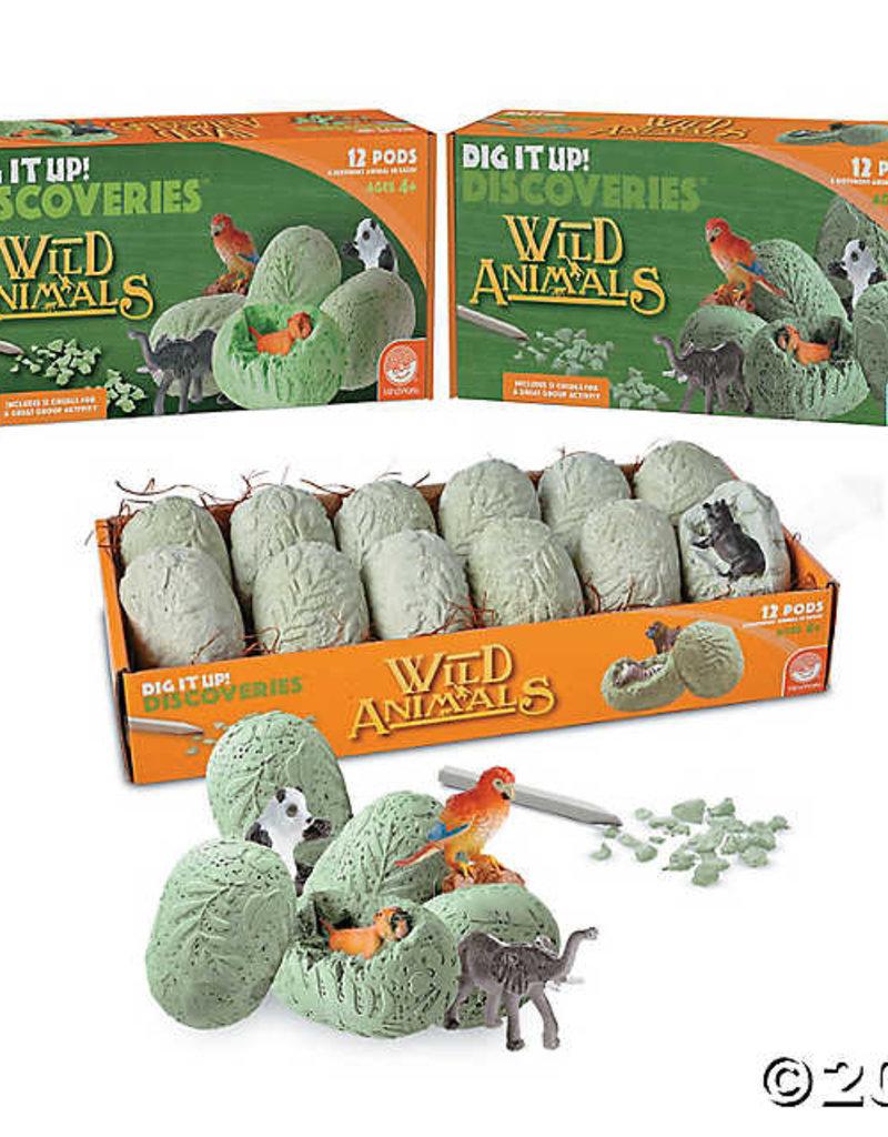 Dig it Up Wild Animals