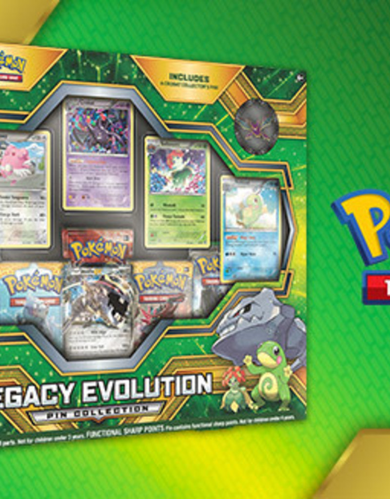 Pokemon Pokemon Pin Box Legacy Evolution
