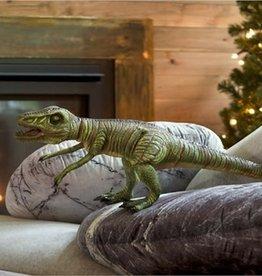 """HearthSong 30"""" Giant Posable Velociraptor Natural Latex Dinosaur"""