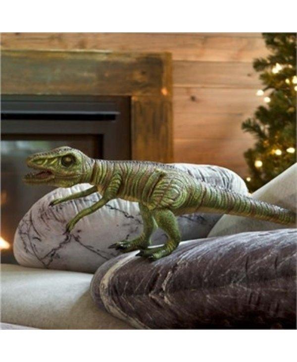 Giant Posable Velociraptor Natural Latex Dinosaur