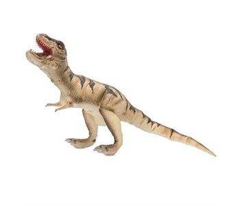 "Giant Posable T Rex Natural Latex Dinosaur 38"""