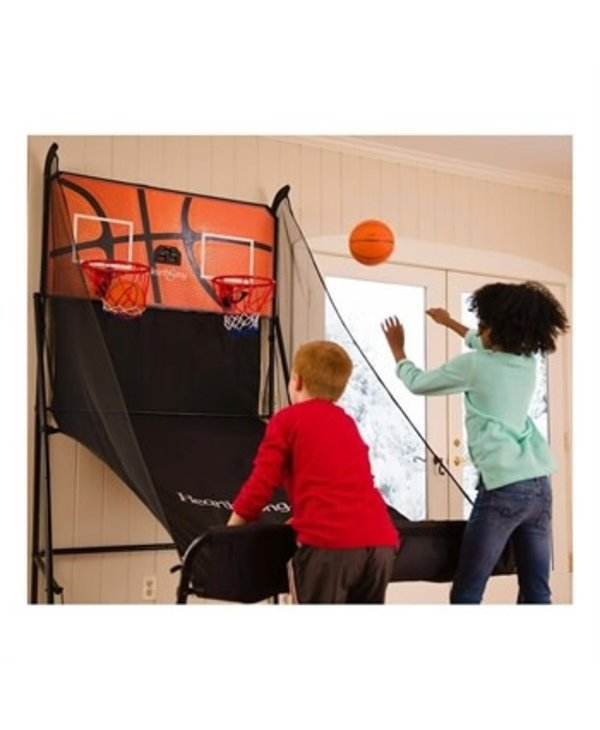 Double Free-Throw Basketball Challenge Game