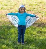 HearthSong Hooded Unicorn Wings- Rainbow