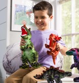 HearthSong Plush Colourful Dino Collection