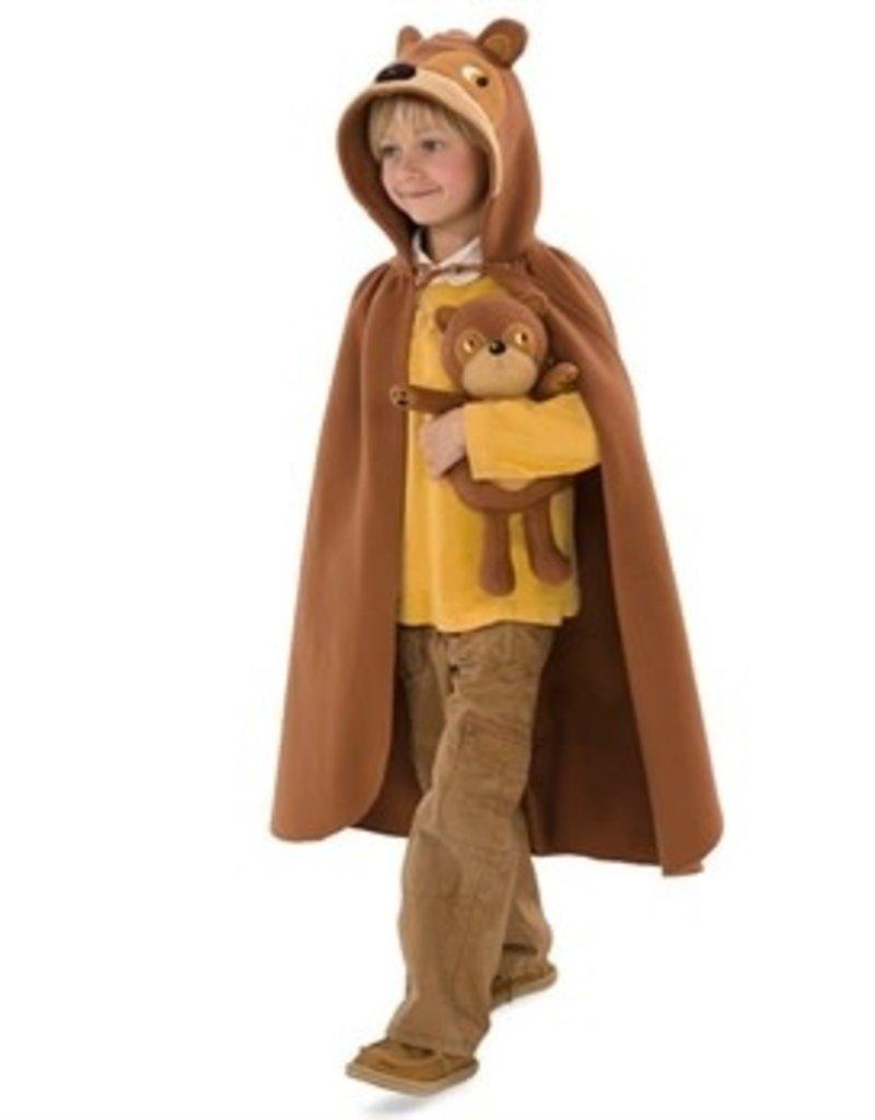 HearthSong Forest Friend Cloak - Bear