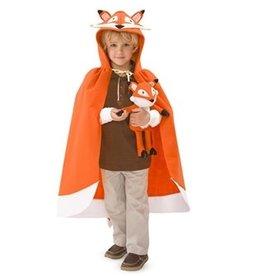 HearthSong Forest Friend Cloak- Fox