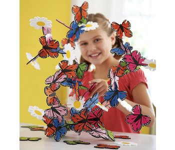 Connectagons®Butterflies and Flowers