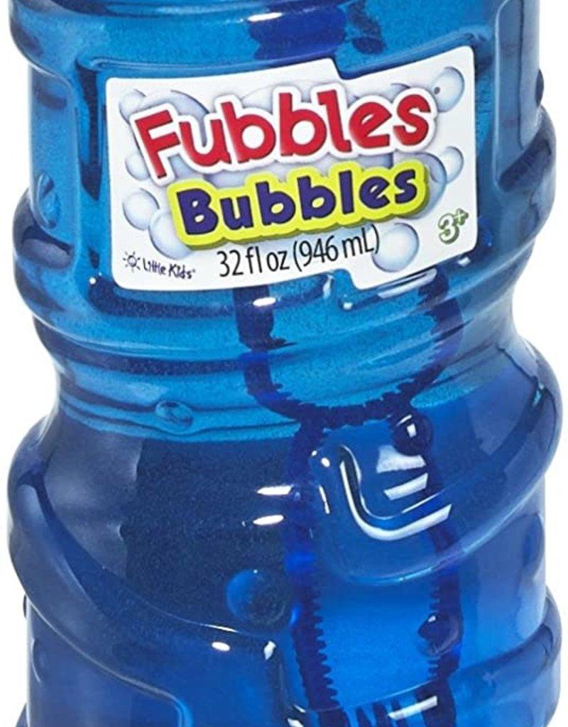 Fubbles Little Kids Fubbles Premium Long Lasting Bubble Solution, 32 oz