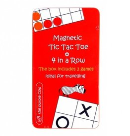The Purple Cow Magnetic Tic Tac Toe & 4 In a Row