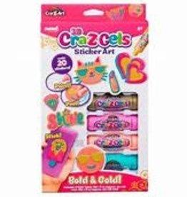 3D Cra-Z Gels Sticker Art