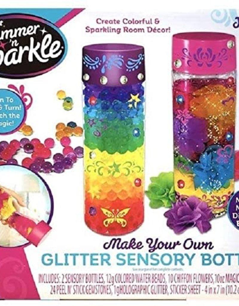 Make your own glitter sensory bottle