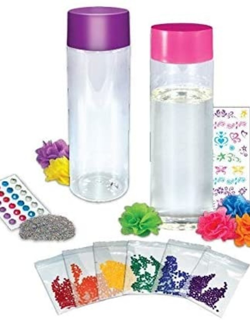 Make your own glitter sensory bottle