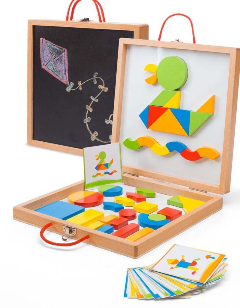 HearthSong Magnetic Activity Blocks  Box