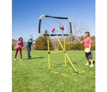Football/Frisbee Toss 2 in 1