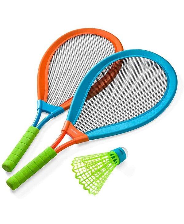Badminton  Large Racket and LED Birdie
