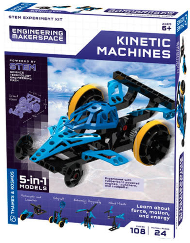 Thames & Kosmos Kinetic Machines 5 in 1 Model