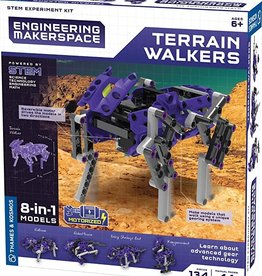 Thames & Kosmos Terrain Walker Science Experiment & Model Building Kit