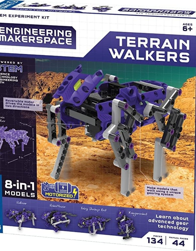 Thames & Kosmos Terrain Walker Science Experiment & Model Building Kit