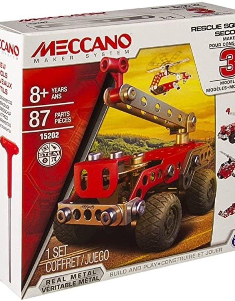 Meccano Rescue Squad 3 in 1