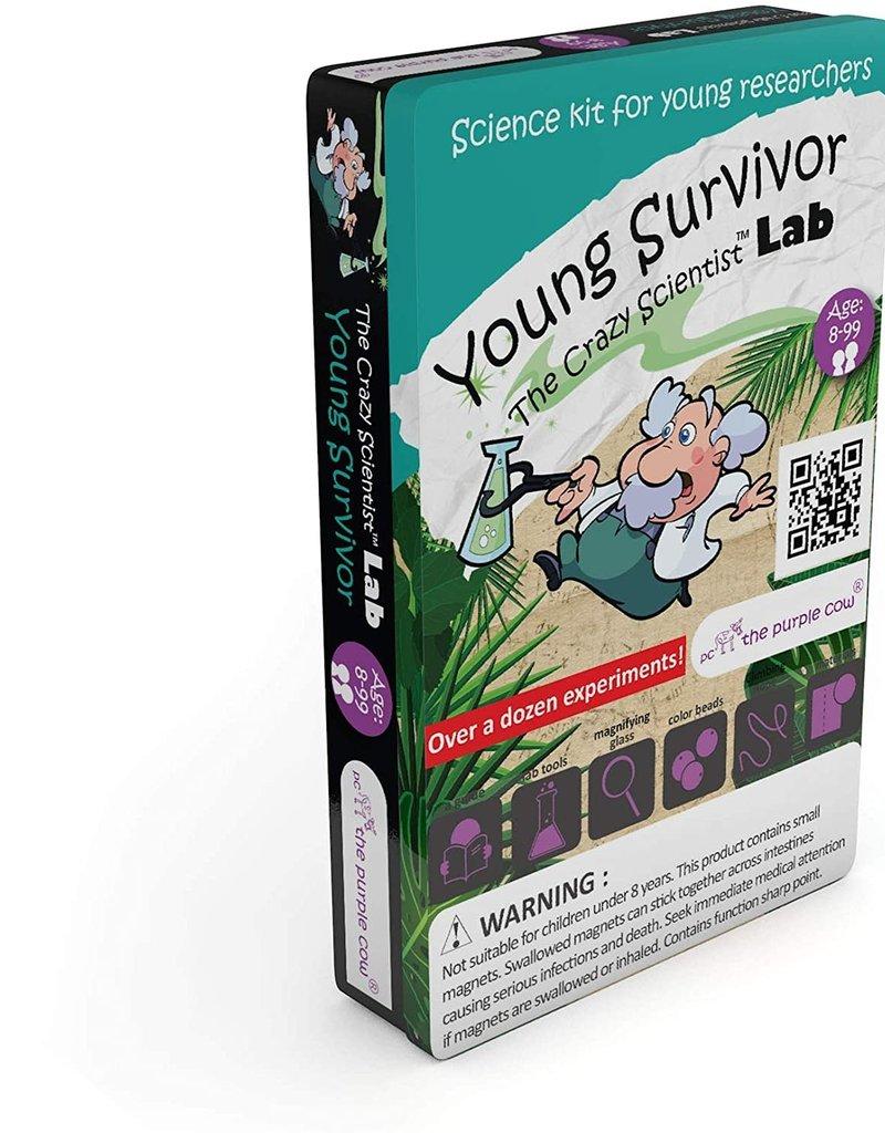 The Purple Cow The Purple Cow Crazy Scientist Lab Young Survivor Survival Skill Box