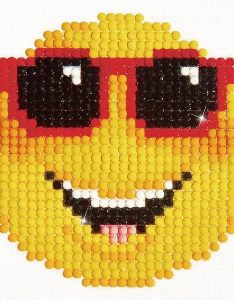 Diamond Dotz Smiling Face w/ Frame - Diamond Dotz
